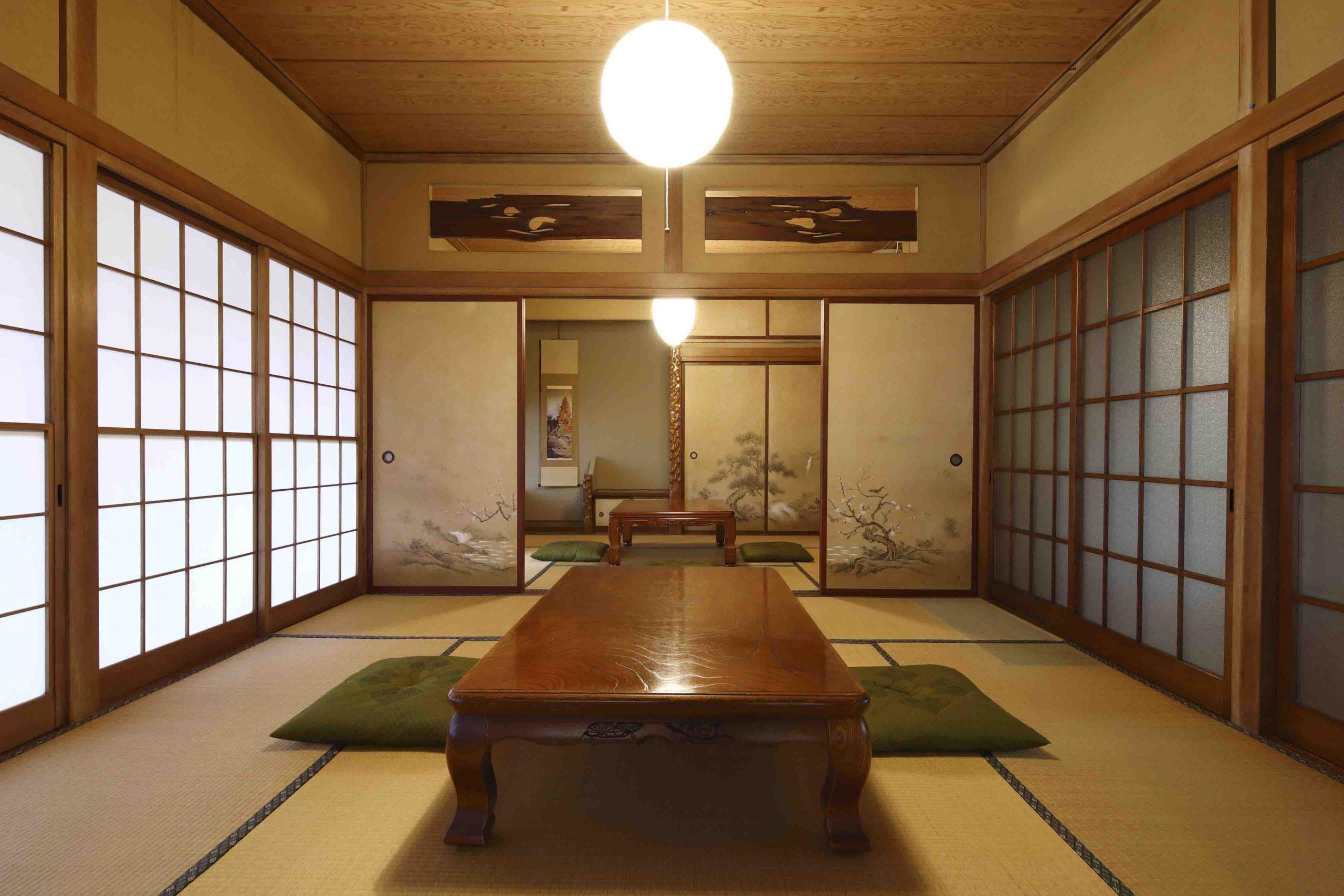 ADDress神奈川県清川邸の客間の写真