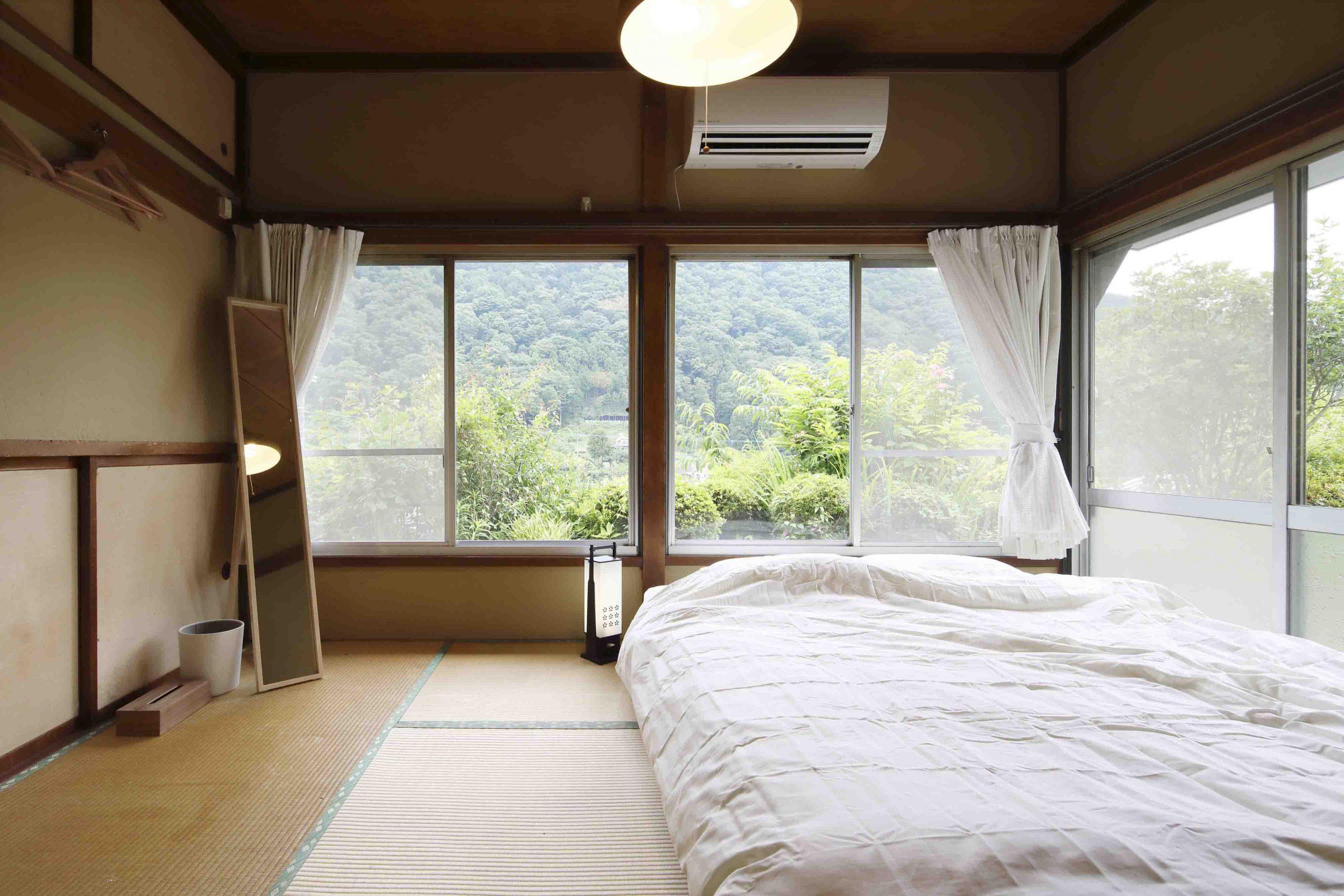 ADDress神奈川県清川邸のベッドルーム写真