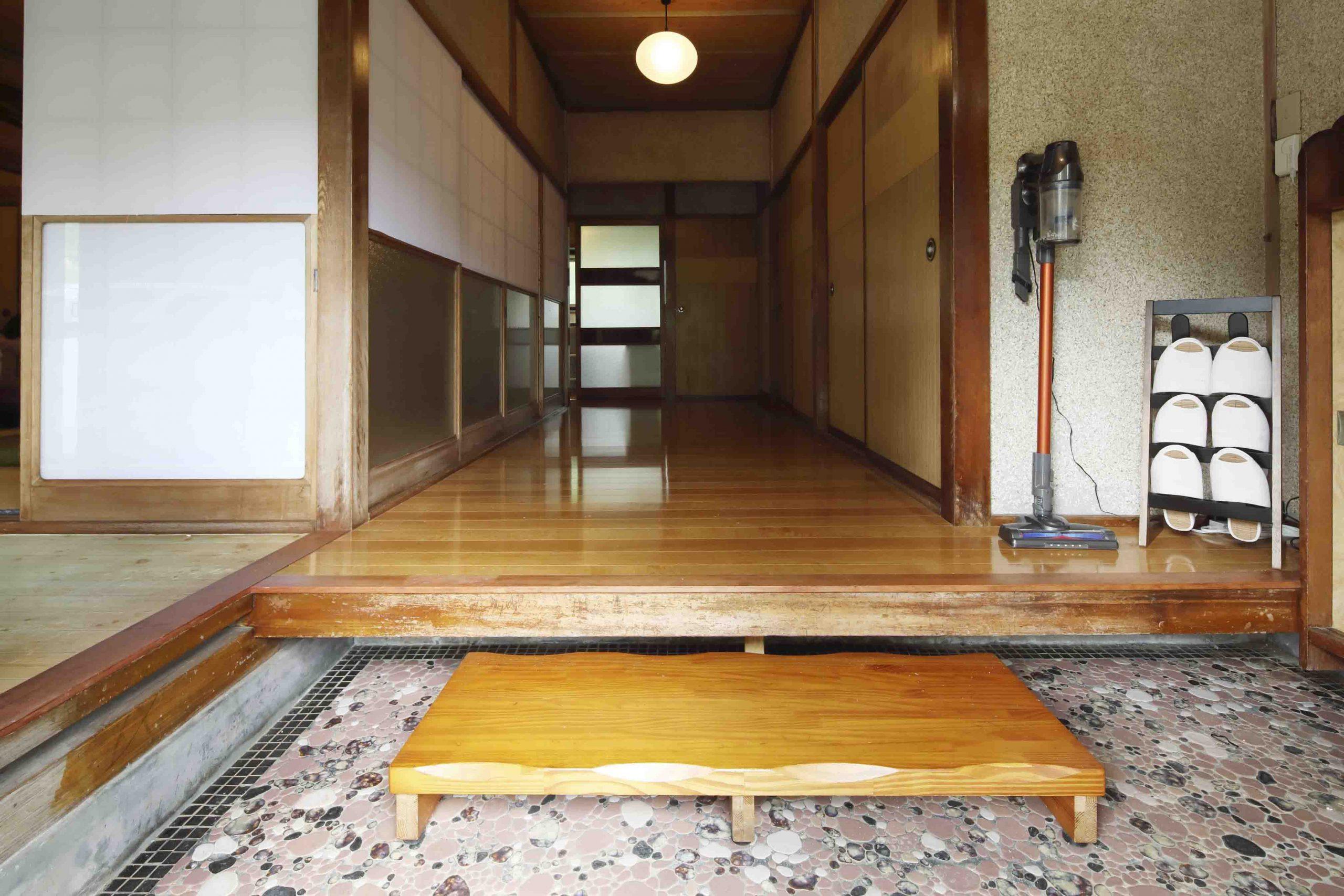 ADDress神奈川県清川邸の玄関写真