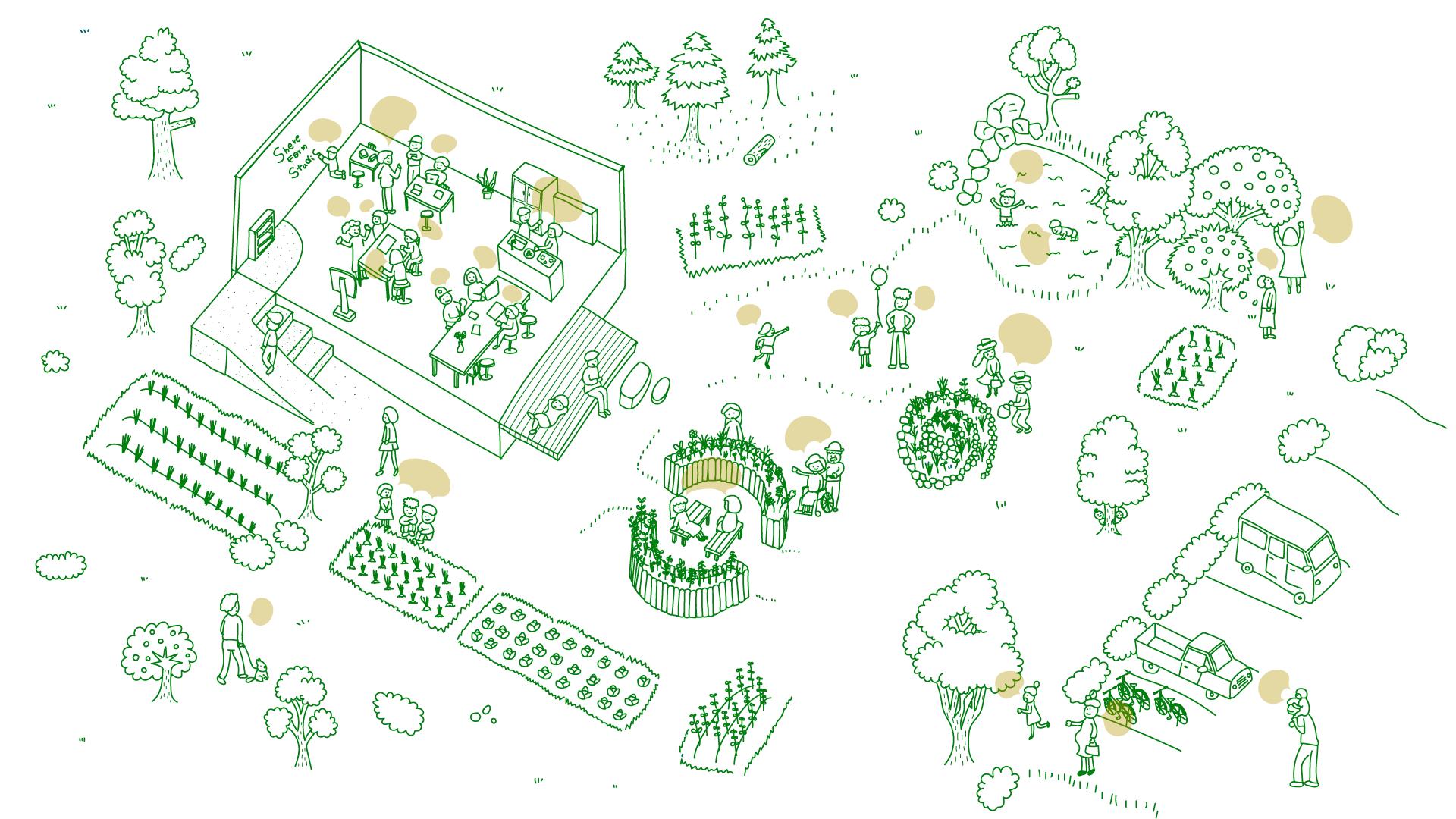 Share Re GreenのHPスクリーンショット
