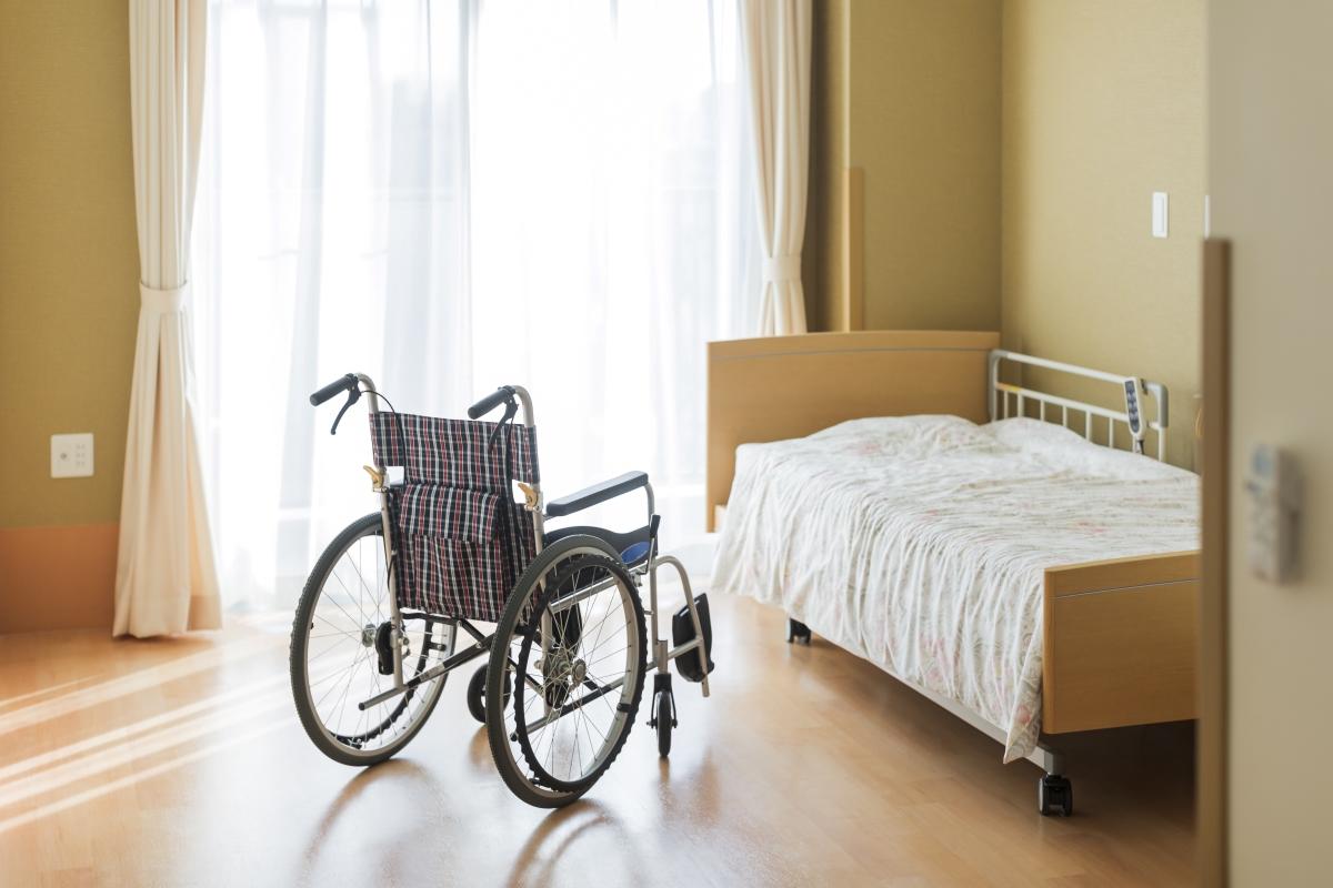特別養護老人ホーム居室のイメージ