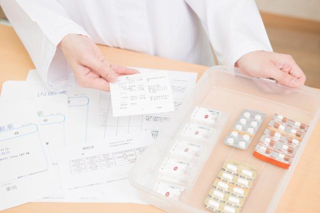 さまざまな薬の写真
