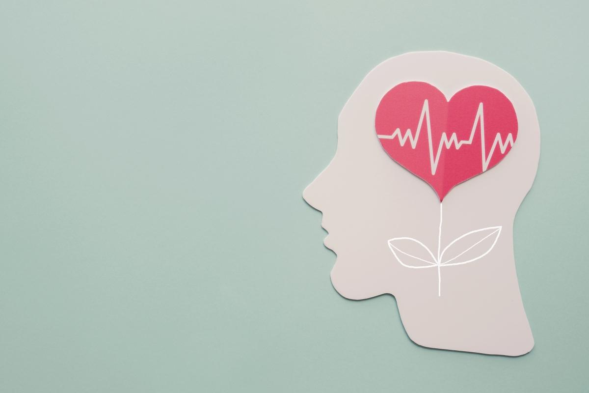 認知症の脳内のイメージイラスト